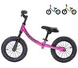 Banana Bike GT - Laufrad für Kinder - 2, 3, 4 und 5 Jahre alt (Metallisches Rosa)
