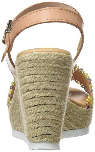 SOTOALTO - 1403104561, Sandali con cinturino Donna Multicolore