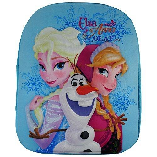 Disney Frozen Elsa et Anna 3D Sàc à Dos pour l'école pre- Scolaire Cartable