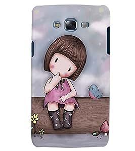 Citydreamz Little Girl/Babies/Birds/Cute Hard Polycarbonate Designer Back Case Cover For Samsung Galaxy Core Prime G360H/G361H