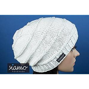 Beanie SIENA Sommer-/Übergangs-Mütze weiß