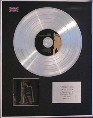 T Rex-CD Platinum disc- Electric Warrior