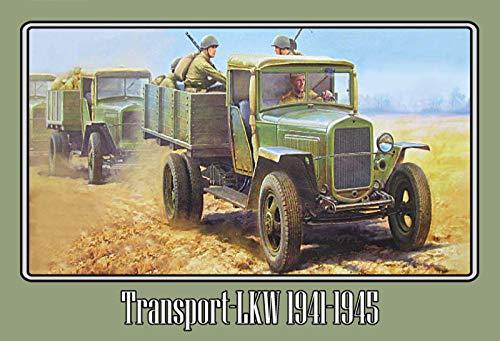 generisch Blechschild 30x20cm Russische Transport LKW 1941-1945 Rote Armee Russland Schild -