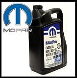 ORIGINAL MOPAR Motoröl 5W20 (Inhalt 5-Liter) SAE/VISKOSITAET 5W-20 / Spezifikationen API SN, ILSAC GF-5