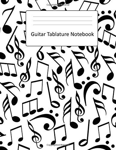 Guitar Tablature Notebook: Large Blank Guitar TAB Book : Blank Sheet Music Paper : 150 Pages por Practice Kaizen