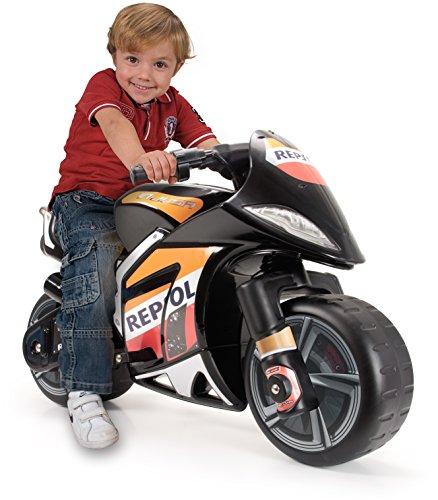 Imagen principal de INJUSA - Moto Repsol a batería 6V XL para niños de 3 años con acelerador en el puño (6461)