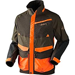 Härkila Pro Hunter Wild Boar Chaqueta de caza Hunting Green/Shadow Brown, hombre Talla 54