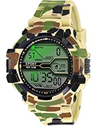 GLOSBY Mens Analog Round Dial Watch For Mens And Boys - B07BJ4K8BY