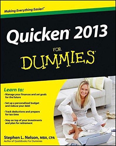 Dummies Quicken (Quicken 2013 For Dummies)