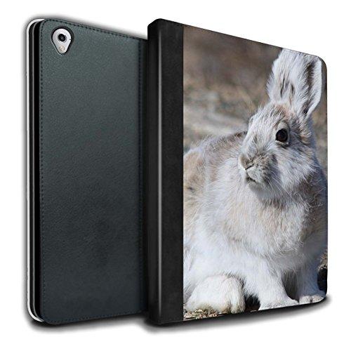 stuff4-pu-pelle-custodia-cover-caso-libro-per-apple-ipad-pro-97-tablet-bianca-artico-lepre-artico-an
