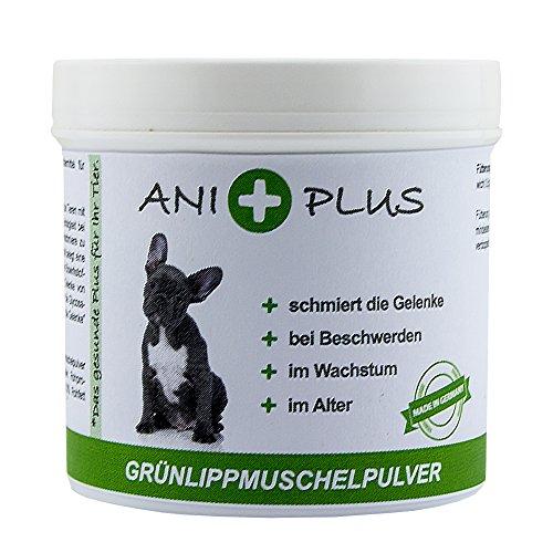 AniPlus - Grünlippmuschelpulver 100 g fördert den Aufbau der Gelenke bei Hunden