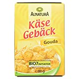 Alnatura Bio Käsegebäck Gouda, 8er Pack (8 x 80 g)