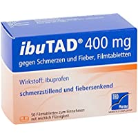 IBUTAD 400 mg gegen Schmerzen und Fieber Filmtabl. 50 St Filmtabletten preisvergleich bei billige-tabletten.eu