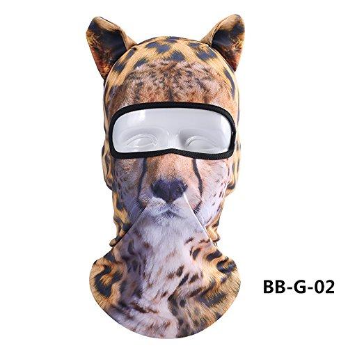 ChunTian Sturmhaube / Maske / Gesichtsschutz Unisex, 3D-Design -