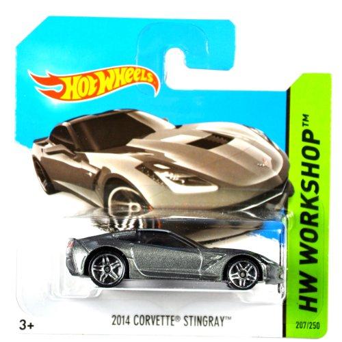 Hot Wheels Chevrolet Corvette Stingray 2014 anthrazitmetallic 1:64 1 64 Diecast Corvette