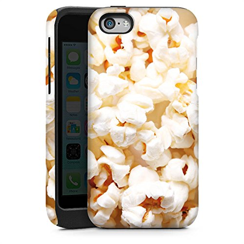 DeinDesign Outdoor Hülle kompatibel mit Apple iPhone 5c Panzer Case Schutzhülle Stoßfest Kino Popcorn Poppin Corn - Case-kino 5c Iphone