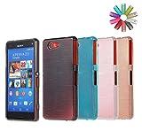 Bralexx 8532-8533-8534-8535 TPU Schutzhülle für Sony Xperia Z5 Compact (4-er Pack)