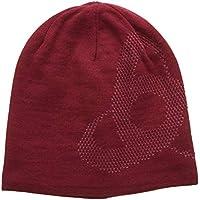 Odlo Mid N-Gage Reversible cálido Gorro, otoño/Invierno, Unisex, Color Rumba Red/Mesa Rose, tamaño Talla única