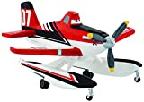 Bullyland 12917 - Spielfigur, Walt Disney Planes 2, Dusty Crophopper Wasserflugzeug, ca. 7 cm