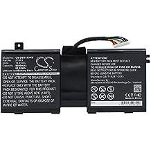 Cameron Sino 5600mAh/82.88wh batería compatible with Model Alienware 17Alienware 18Alienware M17X R5Alienware M18x R3, P/N Dell 2F8K3, 0G33TT, 0KJ2PX, KJ2PX, G33TT
