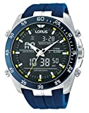 Lorus Watches Herrenuhr Analog-Digital Quarz mit Kautschukarmband - RW617AX9