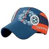 Belsen Mädchen Fußball Baseball Kappen Mesh Cap Truckers Hat (Dunkelblau)
