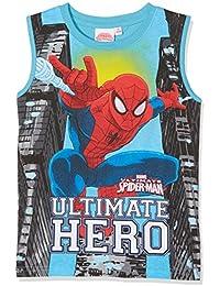 Spiderman Garçon Tee-shirt - turquoise