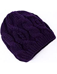 Qiaoba- Mlle Autumn and Winter Sweater Kit Head Cap chapeau tricotant chaud