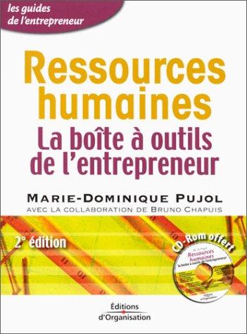 Ressources humaines : La boîte à outils de l'entrepreneur (1 CD-Rom offert)