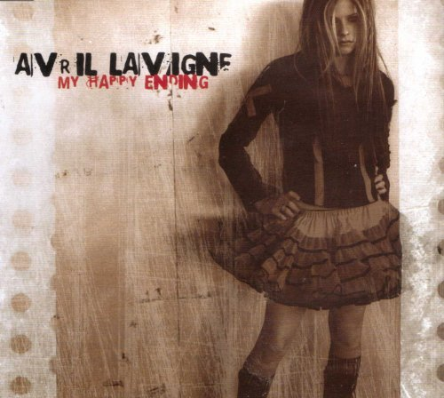 My Happy Ending [ 2 track promo silver cd ]. By Avril Lavigne (0001-01-01)