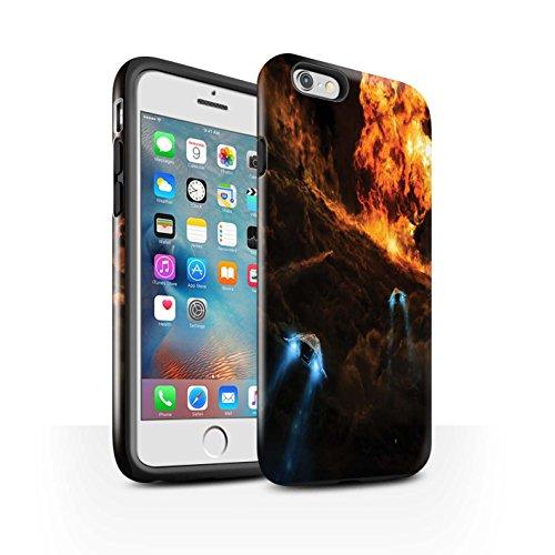 Offiziell Chris Cold Hülle / Glanz Harten Stoßfest Case für Apple iPhone 6S+/Plus / Pack 12pcs Muster / Fremden Welt Kosmos Kollektion Chaos Entfesselt