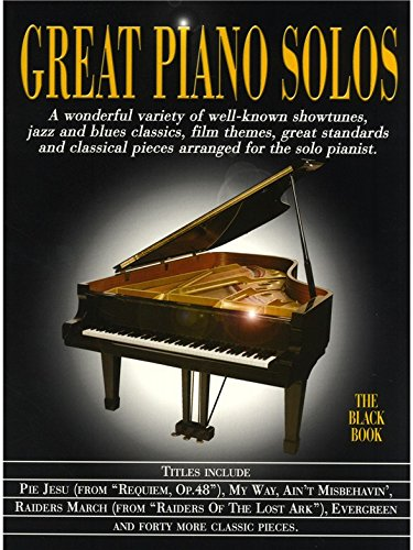 Great Piano Solos - The Black Book - Partitions