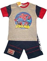 Conjunto para niño, diseño de Spiderman