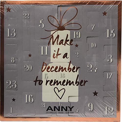 ANNY - Adventskalender 2018 - Kalender - Advent Calendar - Nägel - Nails - Nagellack - Kosmetik - Beauty - Limitiert