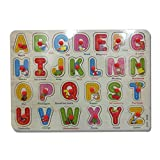 DCS wooden puzzles board [Alphabets.]