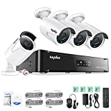 Best Diy Security Systems - SANNCE 4CH 1080P sPoE NVR HD CCTV Camera Review
