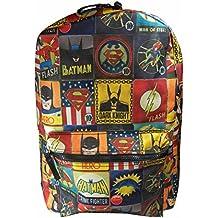 DC Comics - mochila de Batman/Superman y el flash El Flash, Vintage mochila