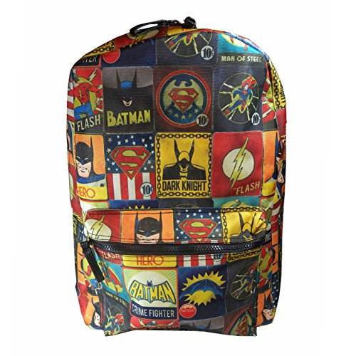 DC Comics - mochila de Batman/Superman y el flash El Flash, Vintage mochila