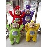 BeesClover Teletubbies Po Dipsy LAA LAA and Tinky Winky 10 Plush Dolls Set 4
