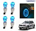 Customize your vehicle with this Speedwav Skull Shaped Tyre Motion Sensor LED lights, it is the coolest way of making your vehicle the most eye-catching on the road. The LED Lights have super bright light, energy saving and long lifespan LED can incr...