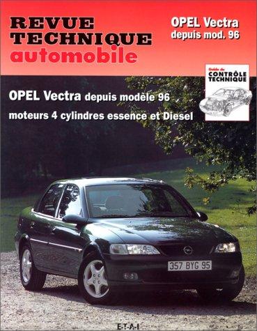 Revue Technique Automobile, CIP 728.1 : Opel vectra depuis 1996