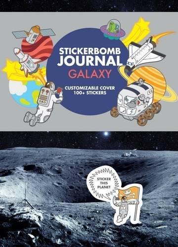 Stickerbomb Journal: Galaxy Galaxy Bogen