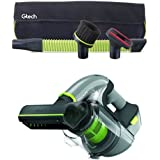 Gtech Multi Car Accessory Kit with Multi MK2 Handheld Vacuum Cleaner, 0.4 L, 140 W, Grey/Green