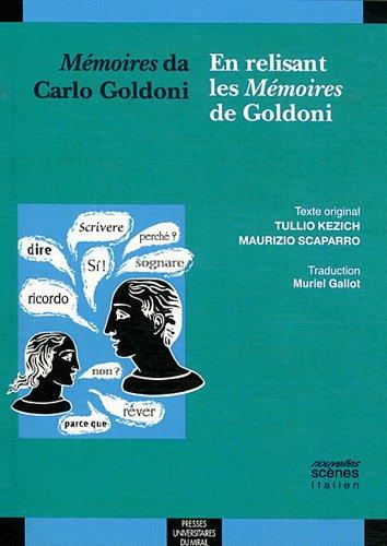Memoires da Carlo Goldoni