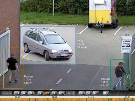 digivod VCA Surveillance 1canali, Server basato su analisi del video per applicazioni complesse in di interni ed esterni, 3d calibrazione