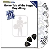 Guitar TAB White Pages Play Along / Reihe: Guitar Recorded Version Mixed / Buch mit 6 CDs und 3 x Fender Pleks