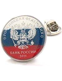 Russland Münze krawatten Stift Anstecknadel Moskau Russisch Россия ивелирные изделия Лацкан костюм флаг