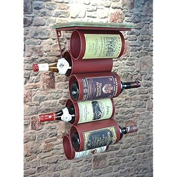 Livitat® Wandregal Wein Weinregal 77 x 31 cm Flaschenregal