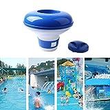 Alftek, dosatore galleggiante di prodotti chimici in pastiglia, di 12,7cm, per piscine e vasche termali
