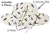Cachette Drool & Teething pour Ergobaby Four Positive 360 porte-bébé, Ensemble 3 pièces